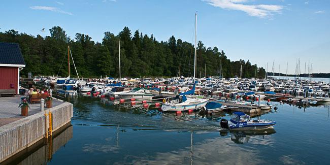 VUK:n satama on yksi Helsingin kauneimmista venekerhosatamista.